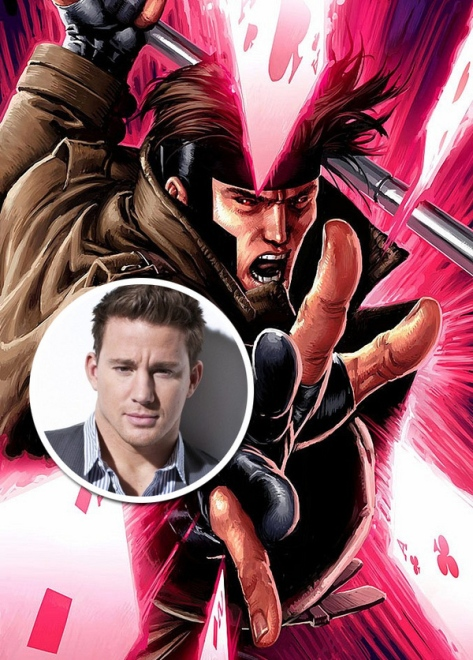 Channing Tatum vai interpretar Gambit.