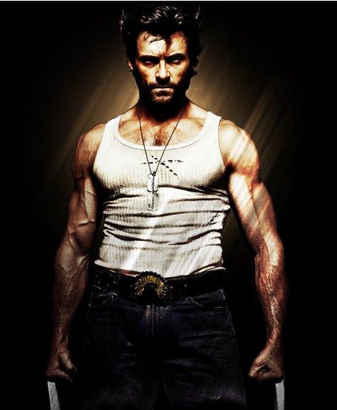 """Hugh Jackman como """"Wolverine""""."""