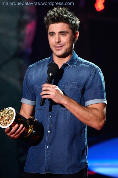 Efron no MTV Movie Awards 2014