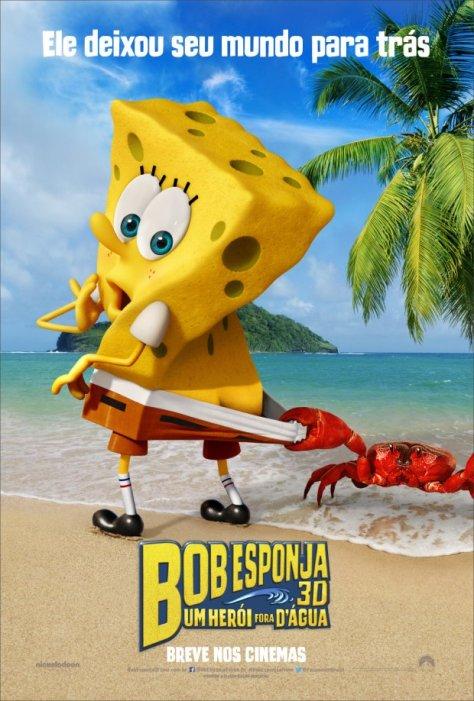 Bob Esponja - Um Herói Fora D'Água.