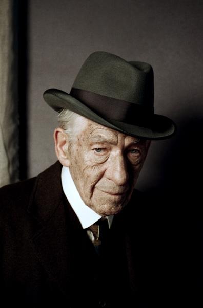 Ian McKellen como Sherlock Holmes.