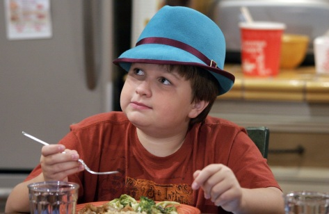 Angus T. Jones Speaks out Against Two and a Half Men Review Jake early episodes wearing a blue hat  5 stars phistars wallpaper